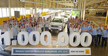 Jubiläum: 1 Million Dacia Duster produziert