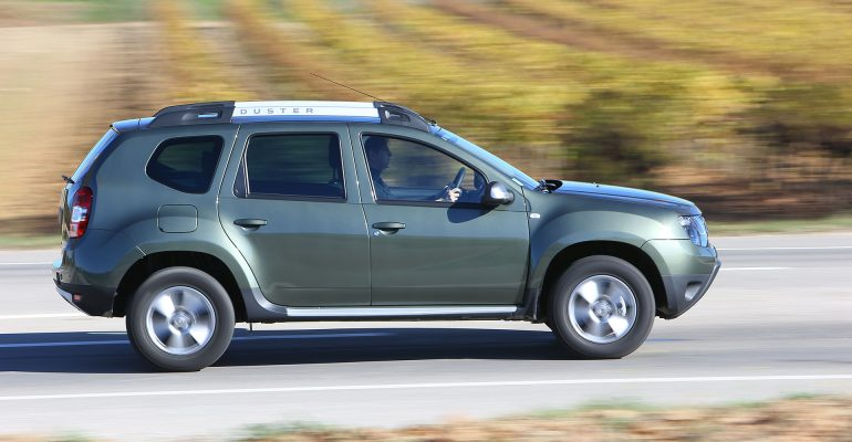 Neuer Dacia Duster überzeugt auf exklusiver Testfahrt