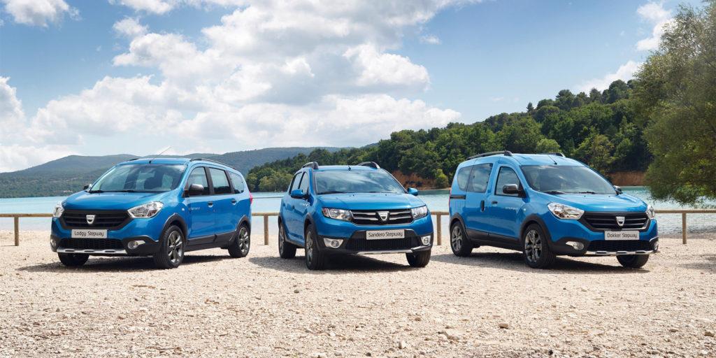 Dacia Sandero Stepway Modelle