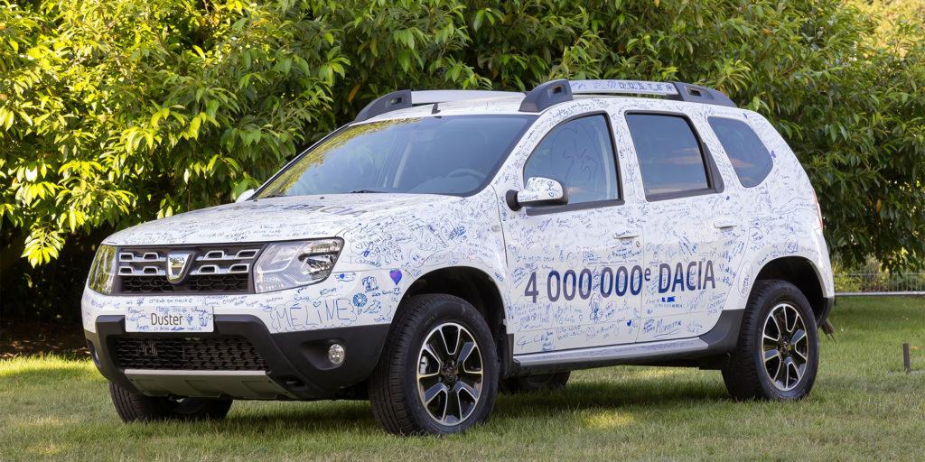 4 Millionen Dacia