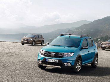 Dynamisches Trio – die neuen Modelle von Dacia