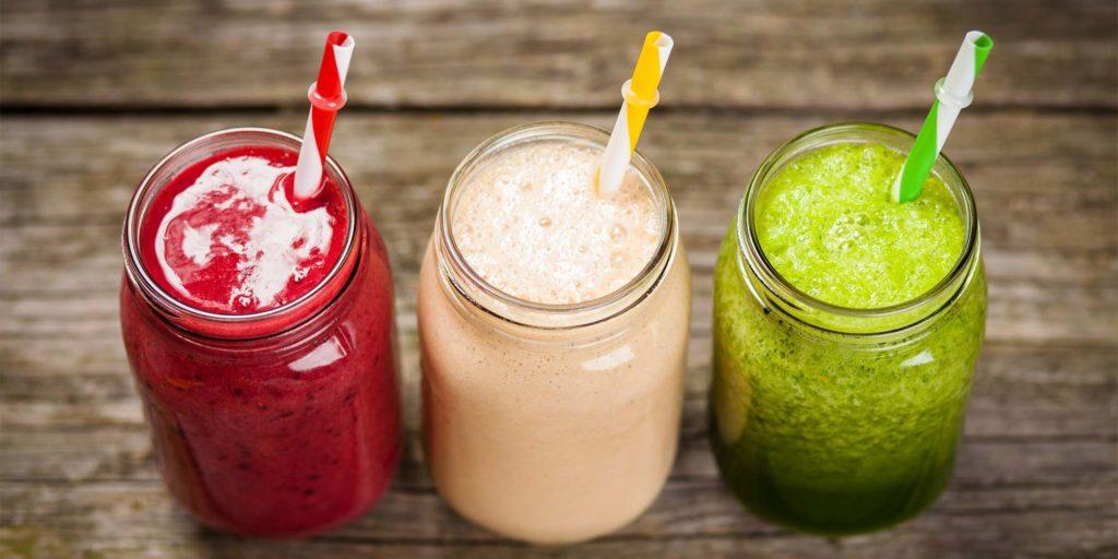 Powerdrinks aus dem Mixer: schmackhafte Smoothies