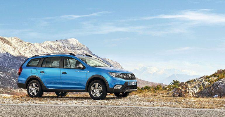 Weltpremiere: Dacia Logan MCV Stepway in Genf