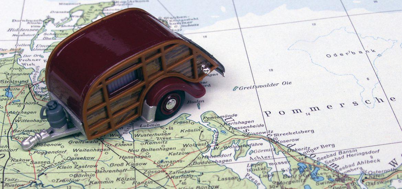 Alternativ-Vorschlag: Maximale Erholung auf kleinstem Raum: Teardrop-Wohnwagen