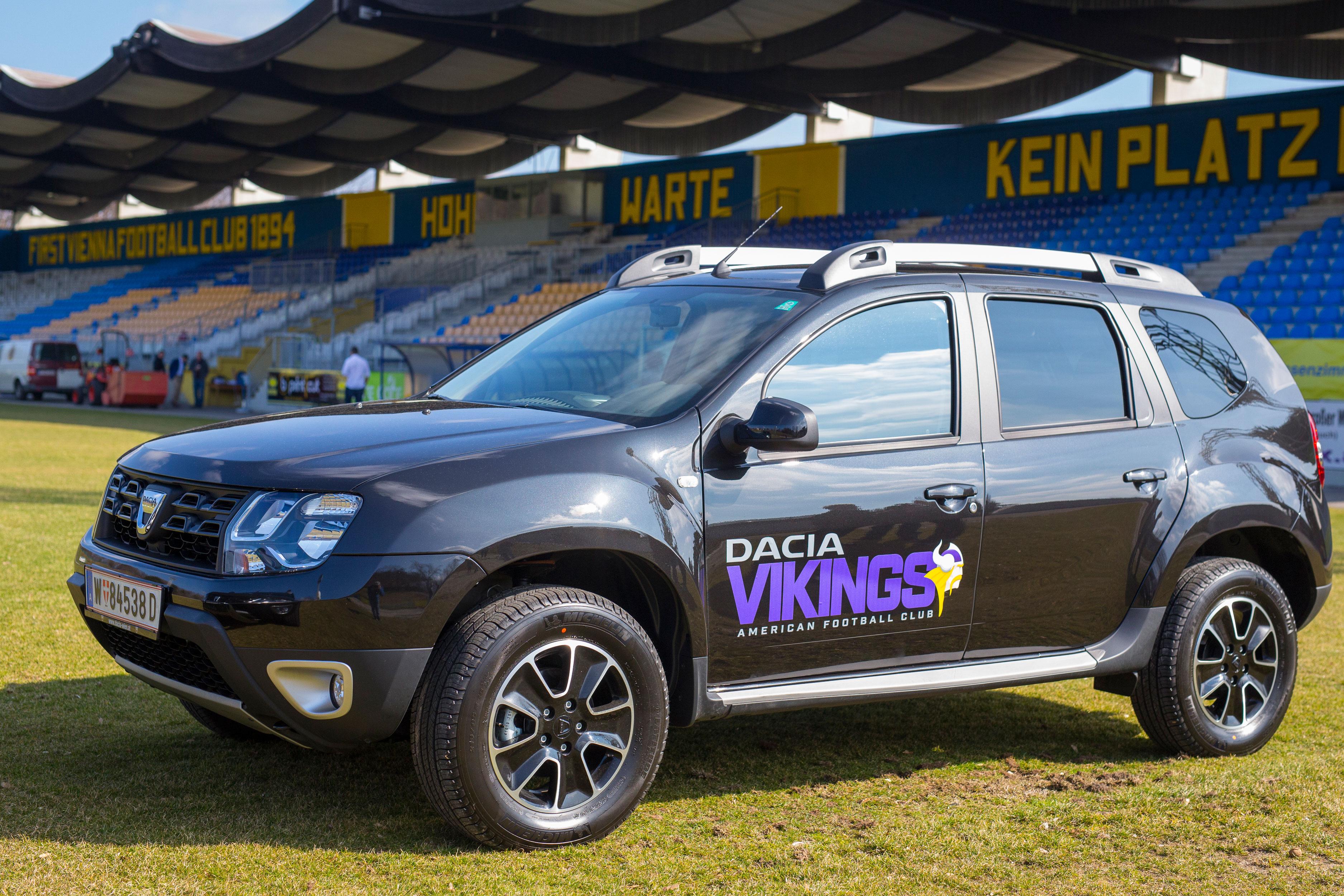 Erfolgsteam: Dacia Vikings gewinnen Austrian Bowl