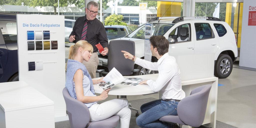 Die beliebtesten Autofarben: Dacia Fahrer treiben's bunt