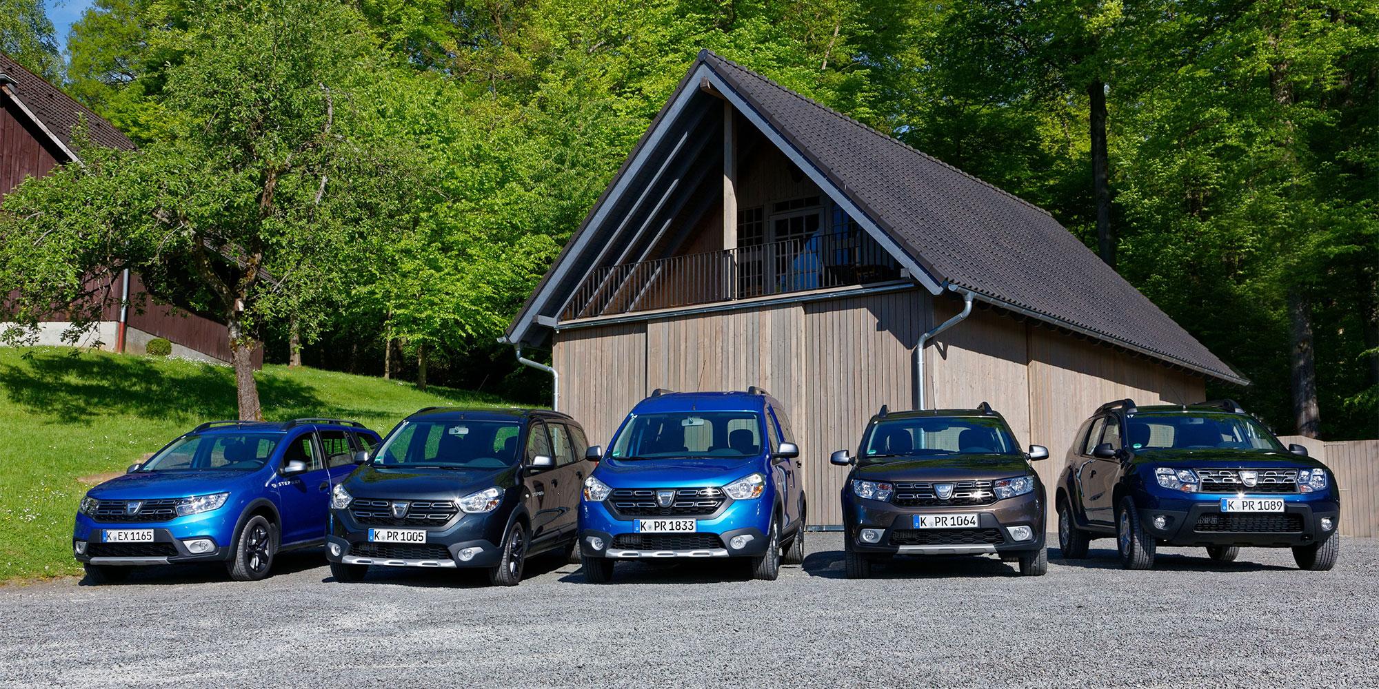 Mehr als 500.000 Zulassungen: Dacia auf Erfolgskurs