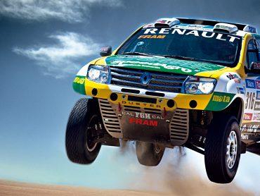 Dacia auf der großen Bühne, des Motorsports – zumindest fast