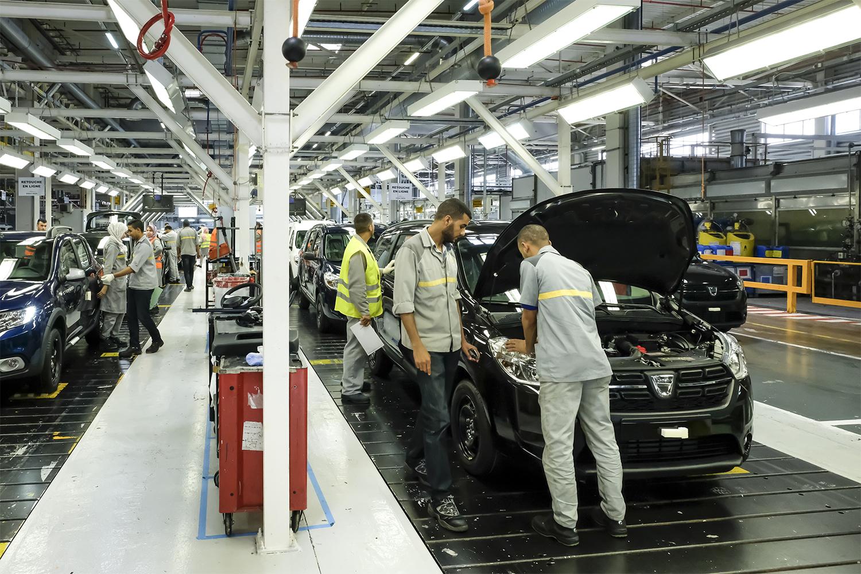 Fahrzeugproduktion in Marokko: Werk in Tanger