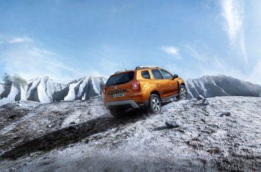 Wettrennen auf Schnee: Duster schlägt die Konkurrenz