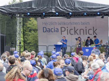 Auf zum DACIA Picknick Mitte Juli im Fort Fun