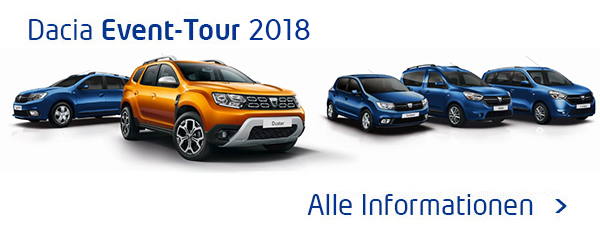 Dacia Event-Tour 2018