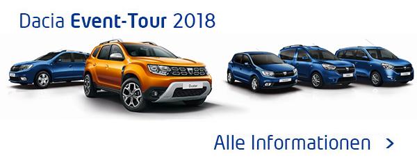 Dacia Event-Tour 2018
