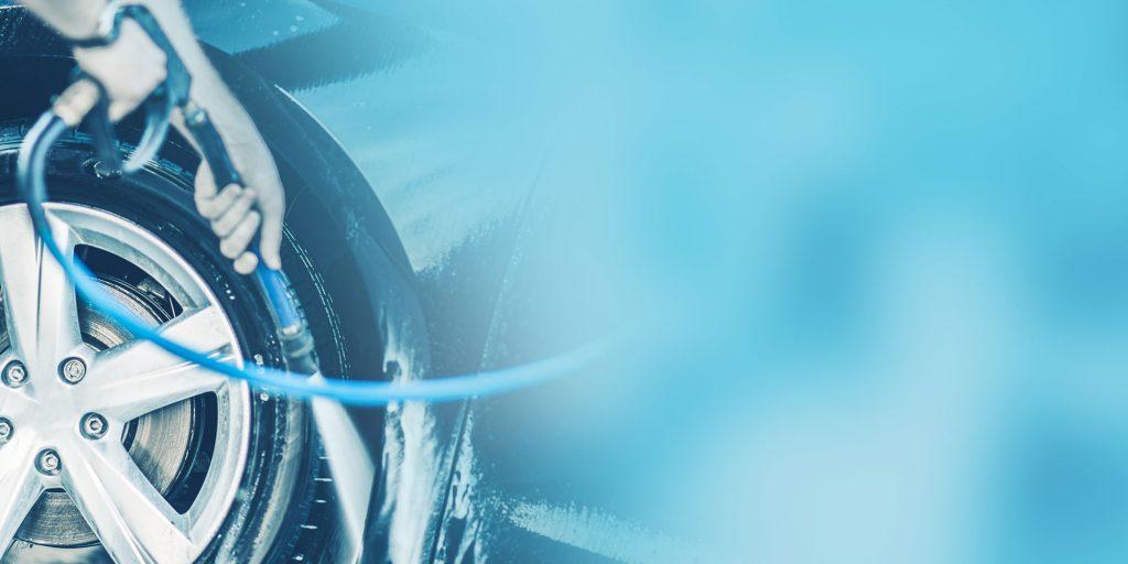 Auto im Winter waschen