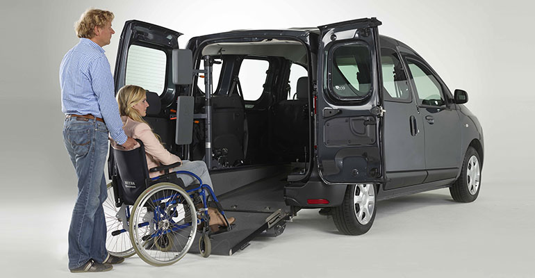 Mobil trotz Behinderung: Umbaulösungen für Ihren Dacia