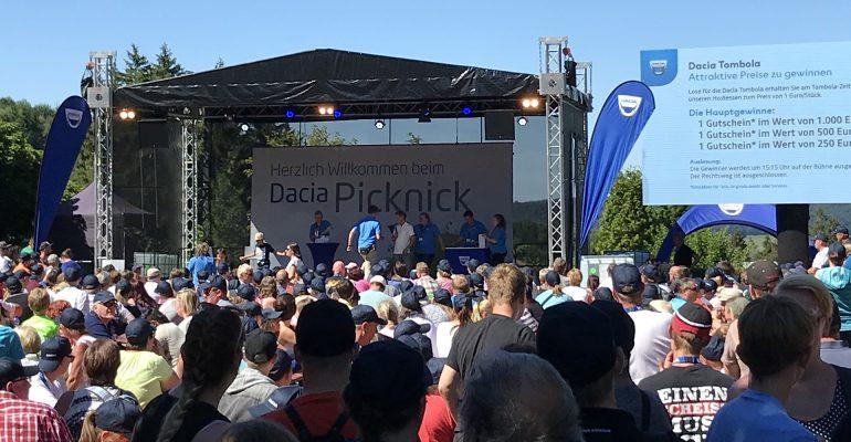 Dacia Picknick: Ein tolles Fest im Freizeitpark