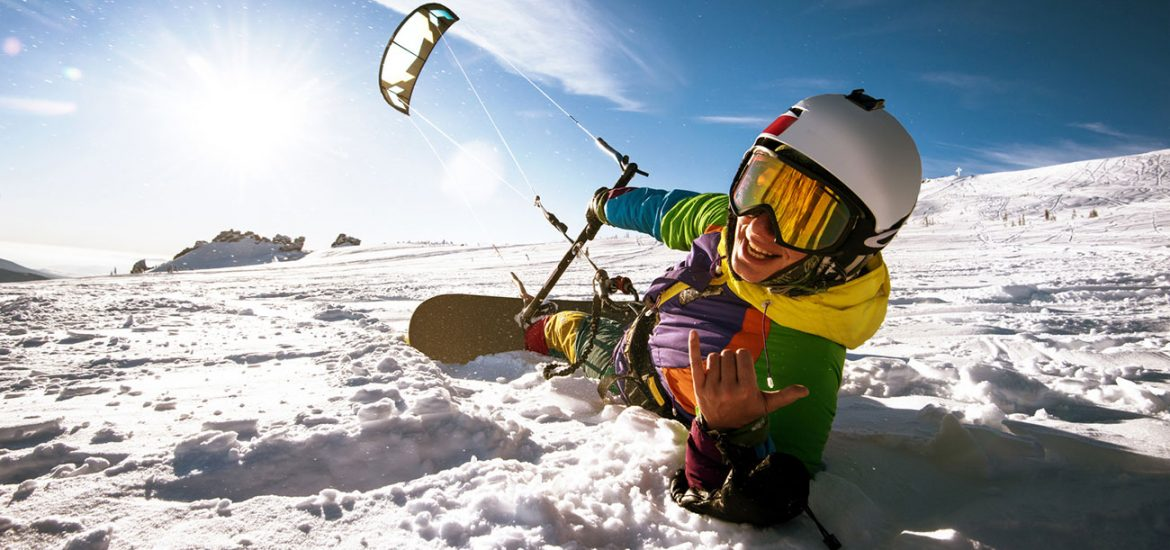 Wintersport-Trends: Snow-Kiting, Fatbikes & Co.