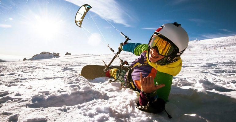 Trendiger Wintersport: Schnee-Zorbing, Fatbikes & Co.
