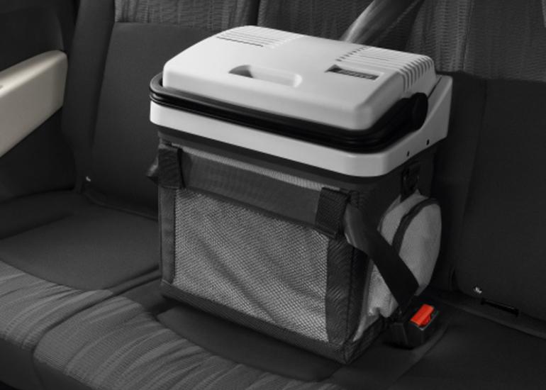 Kühlbox, Videosystem & Co.: Reisezubehör