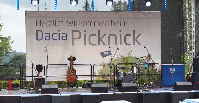 Spaß und Spannung im Abenteuerland: das Dacia Picknick 2019