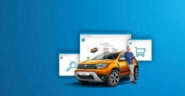 Auto online kaufen: der neue Dacia Shop macht's möglich