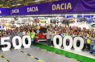 Neuer Duster: 500.000. Exemplar läuft im Werk Mioveni vom Band