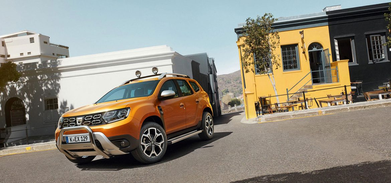 Dacia Duster im SUV-Vergleichstest