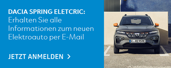 Dacia Spring Electric Waitingprogramm
