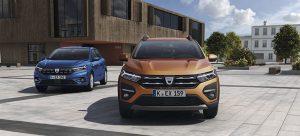 Der neue Dacia Sandero und der neue Sandero Stepway