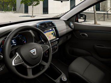 Dacia Spring Electric: gutes Raumangebot und modernes Infotainment