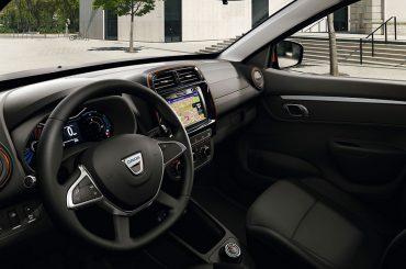 Dacia Spring: gutes Raumangebot und modernes Infotainment