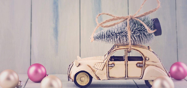 Weihnachtsschmuck fürs Auto