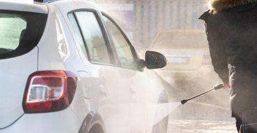 Tipps zum Auto waschen im Winter