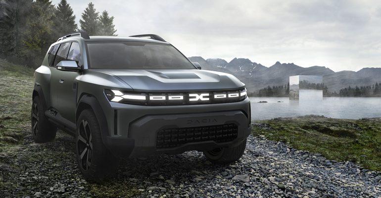 Dacia Bigster Concept gibt Ausblick auf ein SUV-Modell