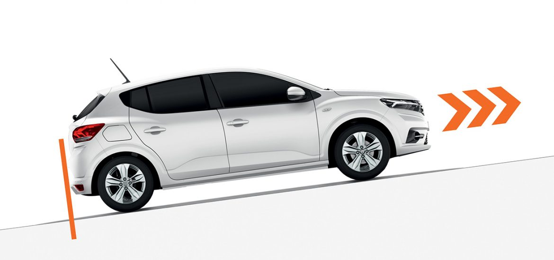 Der neue Dacia Sandero und Sandero Stepway: Verwendung der elektronischen Parkbremse