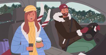 Winterkleidung im Auto: Sind Handschuhe & Co. erlaubt?